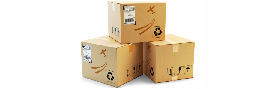 Online shopping parcels to your UK mailbox