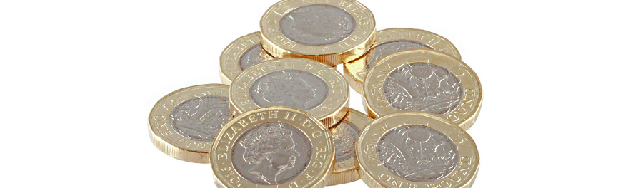 Pound coins - cheap forwarding and scanning for UK expats